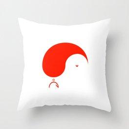 Yule Yang  Throw Pillow