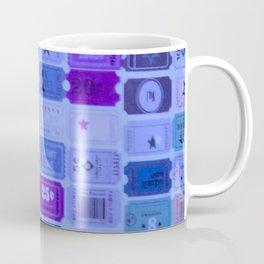 Blue ticket stubs Coffee Mug