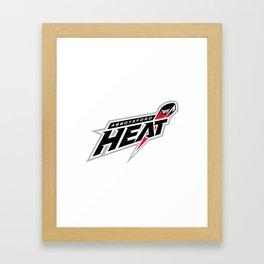 Abbotsford Heat Hockey AHL Team Framed Art Print