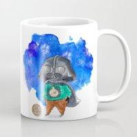 vader Mugs featuring Vader by gunberk