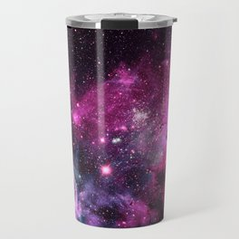 Magenta Teal Purple Carina Nebula Travel Mug