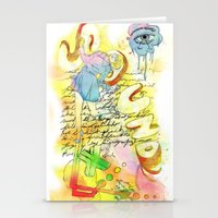 sound Stationery Cards featuring Sound by MODESTo! Prints