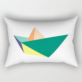 Fune, original colours on white Rectangular Pillow