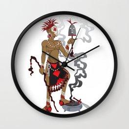 Eleggua Wall Clock