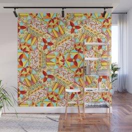Gypsy Caravan Candy Blossom Wall Mural