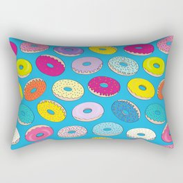 Donuts In The Sky By Everett Co Rectangular Pillow