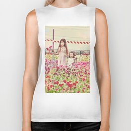 """""""If You Look The Right Way, You Can See That The Whole World Is A Garden"""" Biker Tank"""