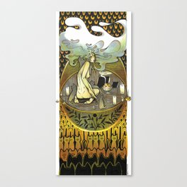 Golden Offering Canvas Print