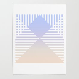 striped nuance Poster