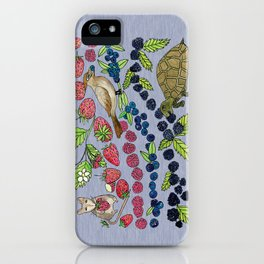 Summer Snack Time by Offhand Designs iPhone Case