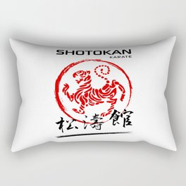 Shotokan Karate Tiger Rectangular Pillow