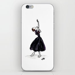 The Lady of the Camellias iPhone Skin