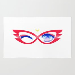 Sailor V Eyes Rug