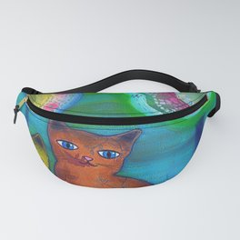 Cats and Trees Fanny Pack
