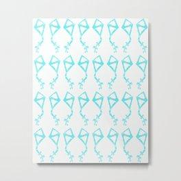 Mint Kites Metal Print
