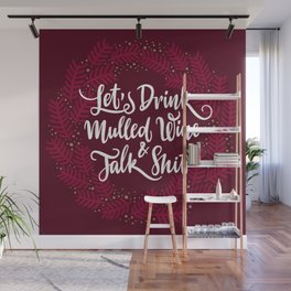 Mulled Wine Wall Mural