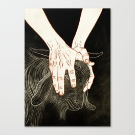 At One Canvas Print