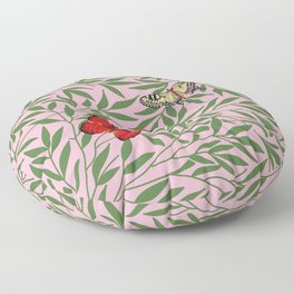 Papillons, butterflies Floor Pillow