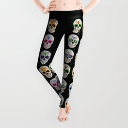 Nine skulls Leggings