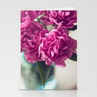 peony Stationery Cards featuring Peony by Jenny Ardell