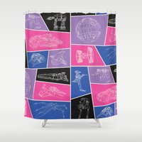ships Shower Curtains featuring Ships by Dorothy Leigh