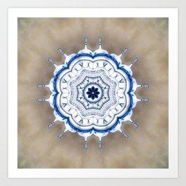 Kremlin Inspired Mandala Art Print