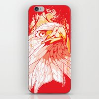 eagle iPhone & iPod Skins featuring Eagle by KUI29