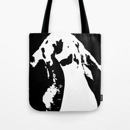 Black & White English Lop Tote Bag