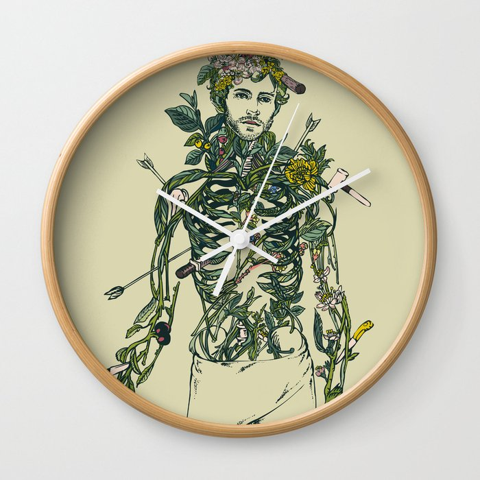 Wound Man Wall Clock