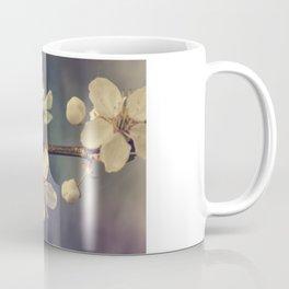 Cherry blossom tree in the blue Coffee Mug