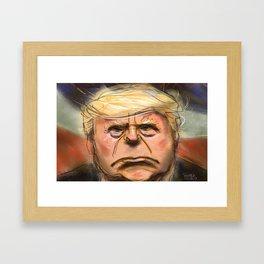 Big Trump Framed Art Print