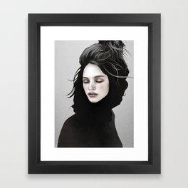 Elsewhere Girl Framed Art Print