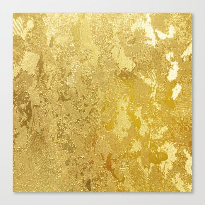 golden vintage Leinwanddruck
