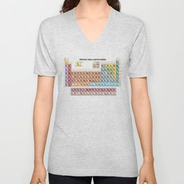 Periodic Table Of Movie Genres Unisex V-Neck