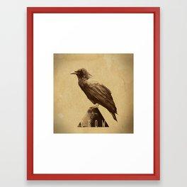 -CROW- Framed Art Print
