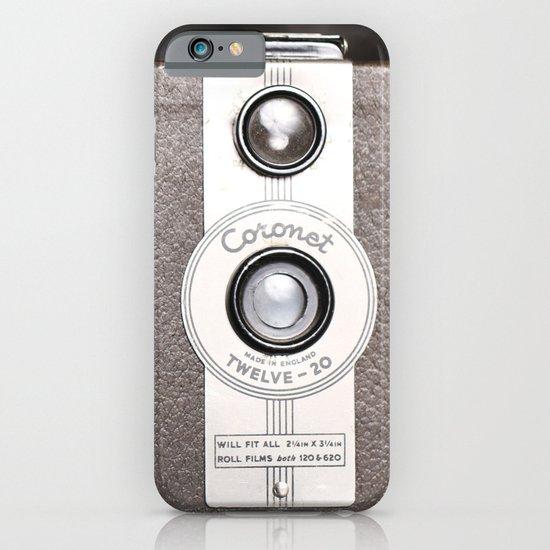 1950 Vintage Coronet twelve-20 twin lens box camera iPhone & iPod Case