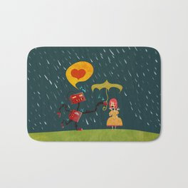 I Love You! Bath Mat