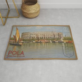Vintage poster - Italy Rug