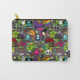 Psychedelic Love Carry-All Pouch
