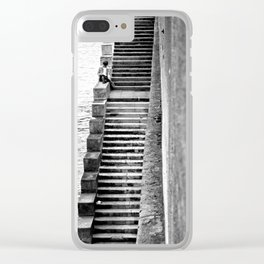 Seine & Sartre Clear iPhone Case
