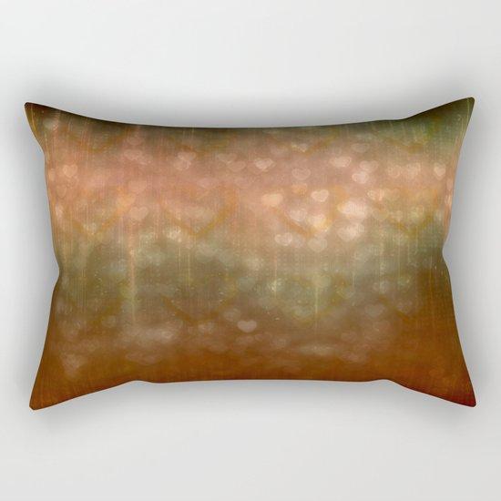 Autumn Dreams Abstract Rectangular Pillow