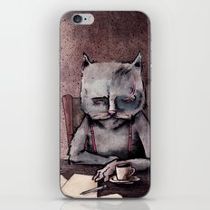 Hemingway cat iPhone & iPod Skin