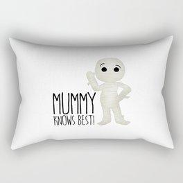 Mummy Knows Best! Rectangular Pillow