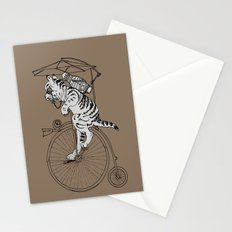 Steam Punk Tabby Cat Stationery Cards