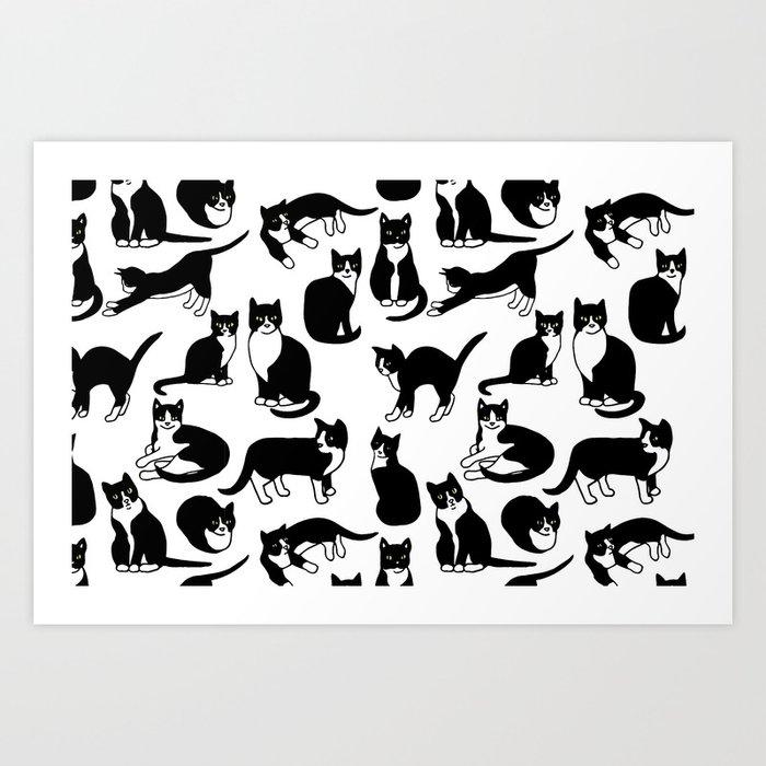 Tuxedo Cats Kunstdrucke