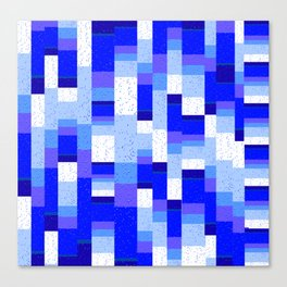 Gentle Power Geometric Canvas Print