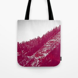 A red velvet myst fogged his eyes but they were evergreen Tote Bag