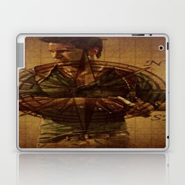 Compass of Uncharted Lands Laptop & iPad Skin