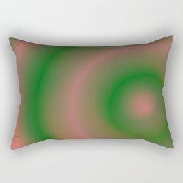 Green and Pink Rectangular Pillow