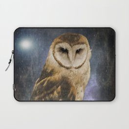 Wise Old Owl - Image Art Laptop Sleeve